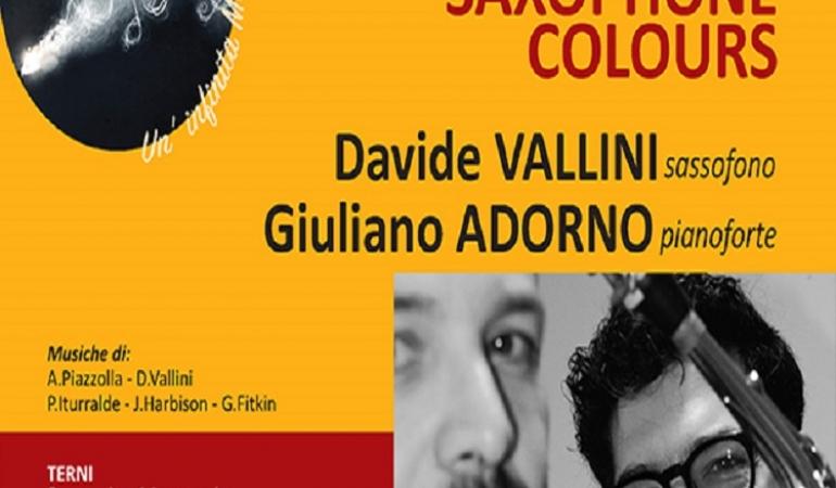Appunti di viaggio: saxophone colours