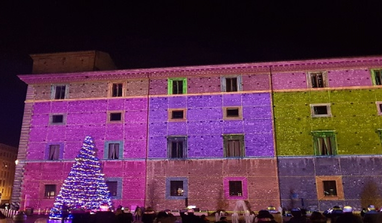 Video Mapping light show