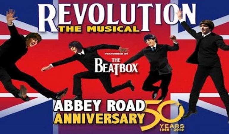 """Musical """"Revolution, The Beatles"""" : 11 luglio – Anfiteatro"""