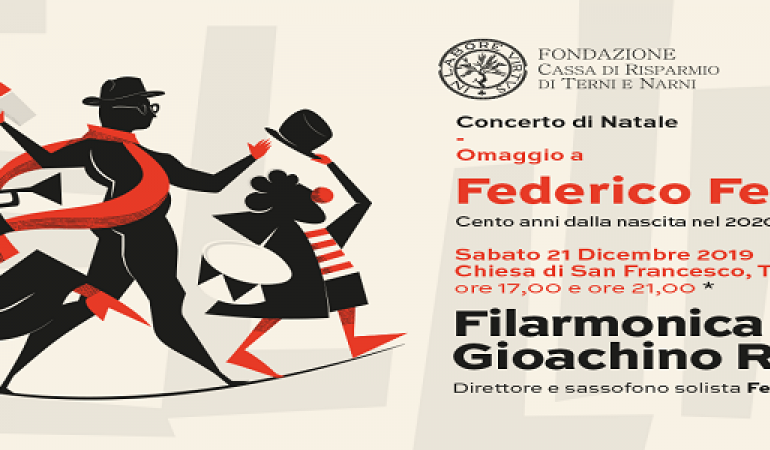 Concerto di Natale: Omaggio a Federico Fellini