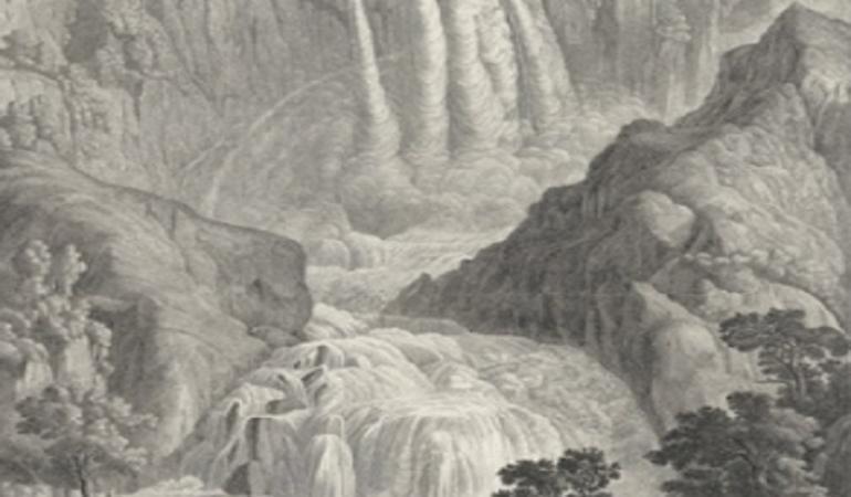La cascata delle Marmore nell'opera antica e moderna