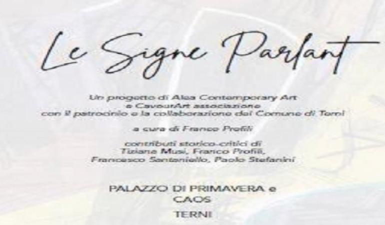 Le Signe Parlant: Mostra internazionale di grafica contemporanea