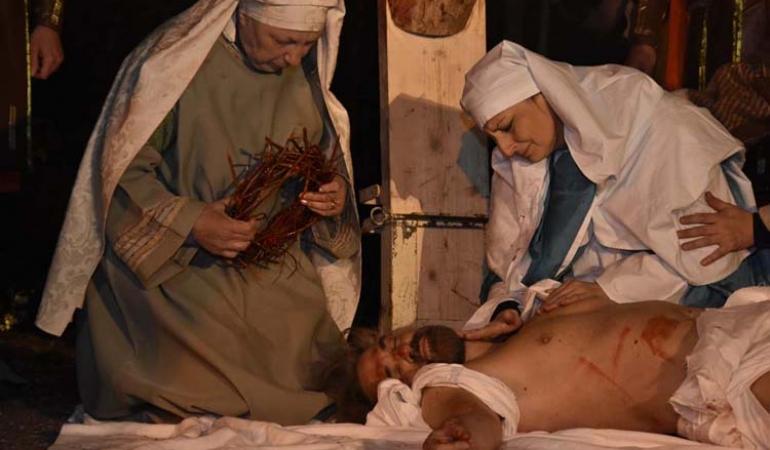 #Iorestoacasa - Viaggio virtuale: Marmore – La Passione di Cristo