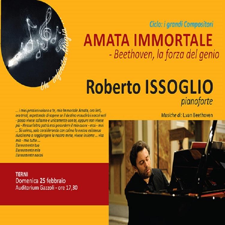 Amata Immortale: Concerto di Roberto Issoglio