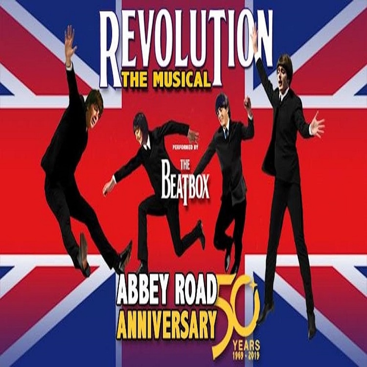 "Musical ""Revolution, The Beatles"" : 11 luglio – Anfiteatro"