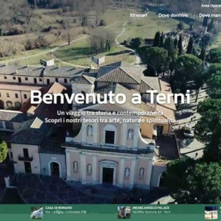 Online il nuovo sito del turismo a Terni
