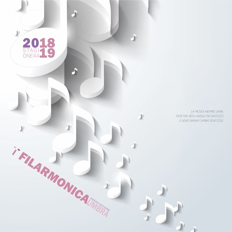 Stagione concertistica filarmonica Umbra 2018 - 2019