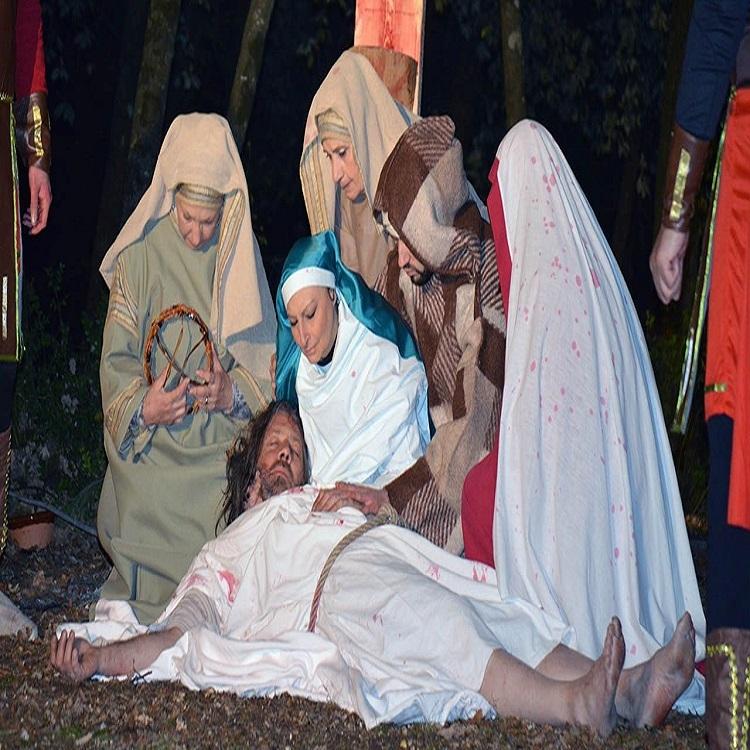 Marmore: rievocazione storica della Passione di Cristo