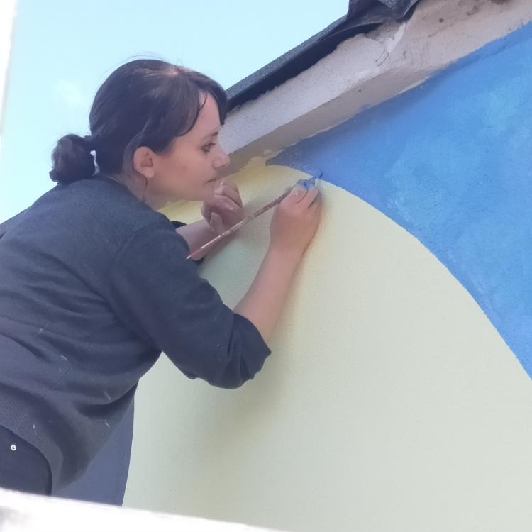 Nuovo Murale a Marmore