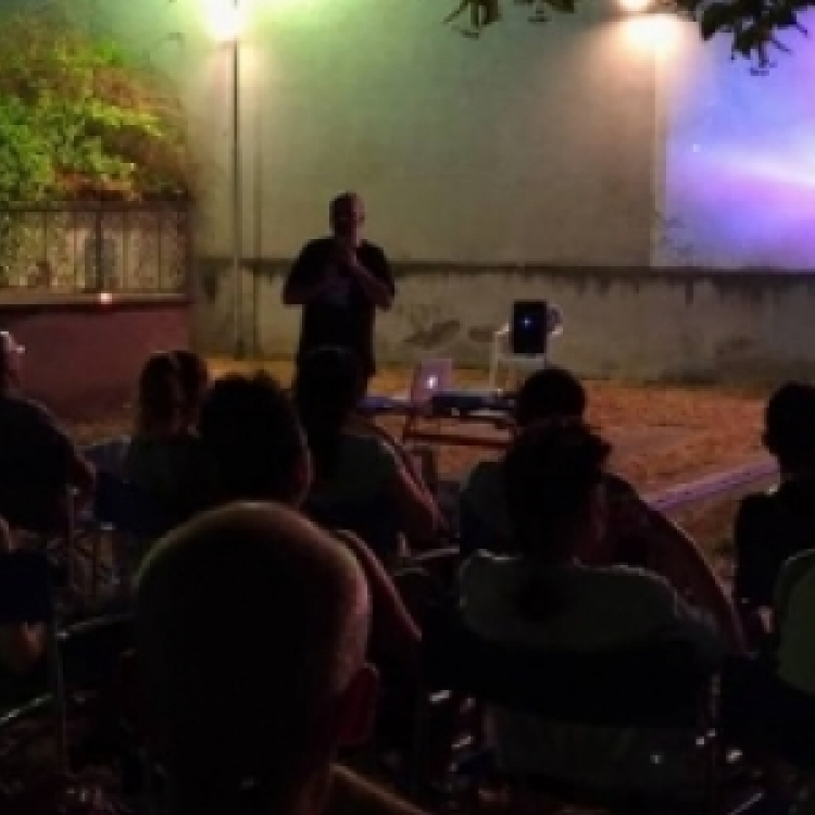 The world in a courtyard: film festival