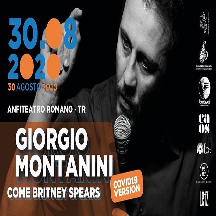 Giorgio Montanini all'anfiteatro Romano