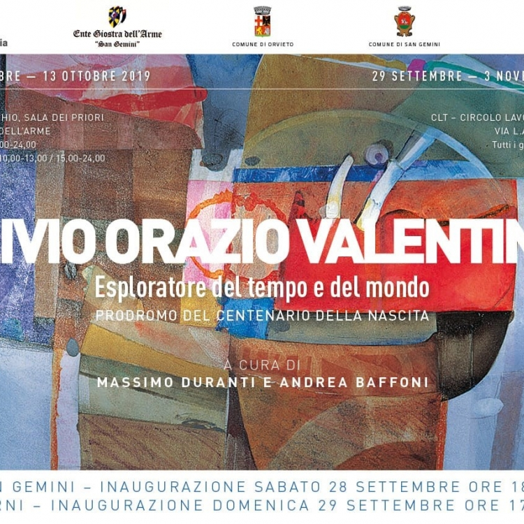 Exhibition by Livio Orazio Valentini: explorer of time and space