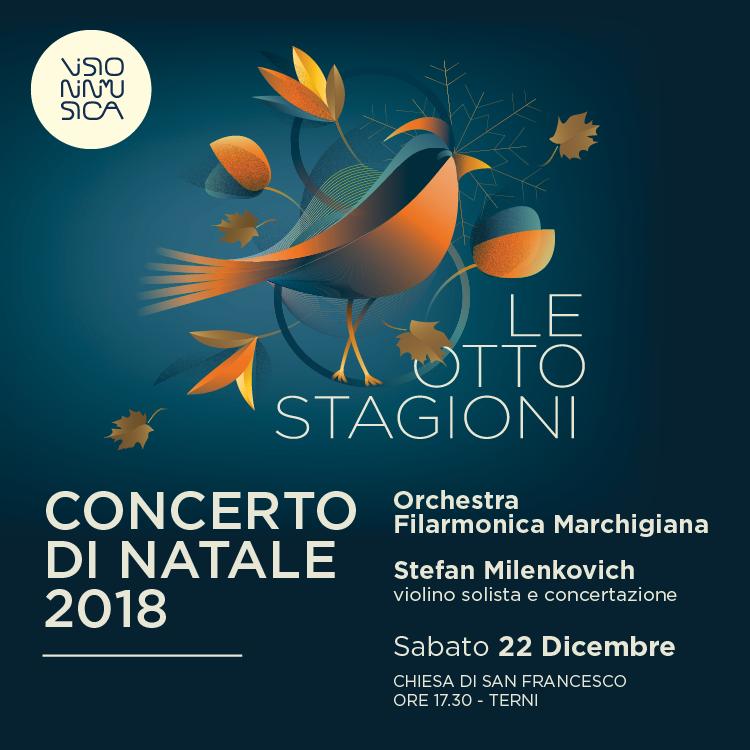 Le otto stagioni: concerto di Natale 2018