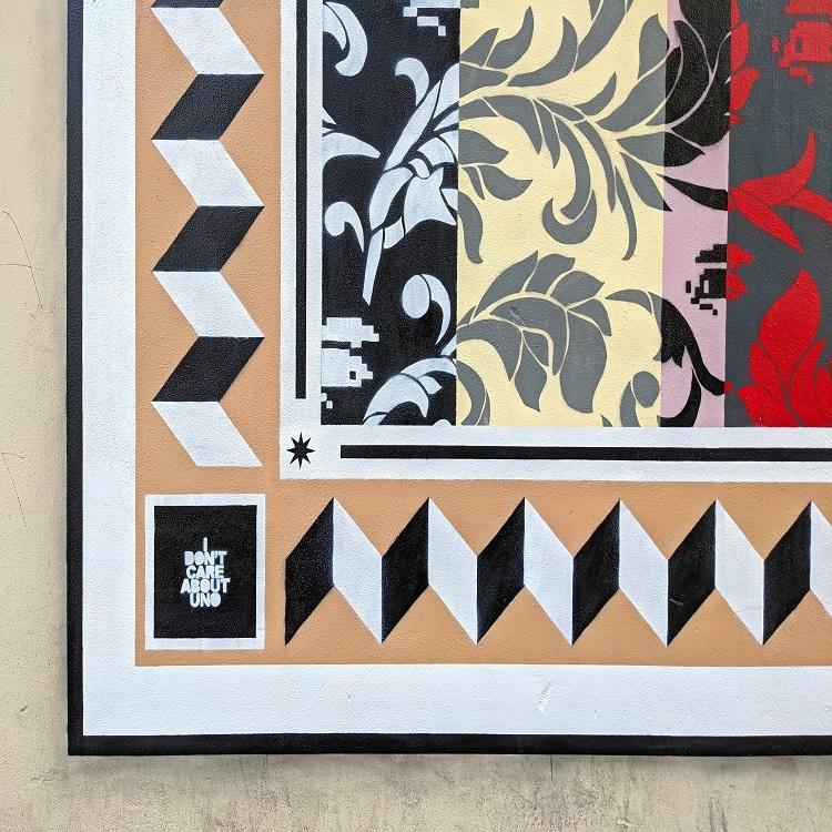 Street Art: nuovo murale dell'artista Uno