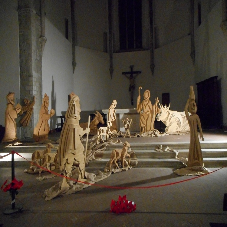 It's not Christmas without a nativity scene….