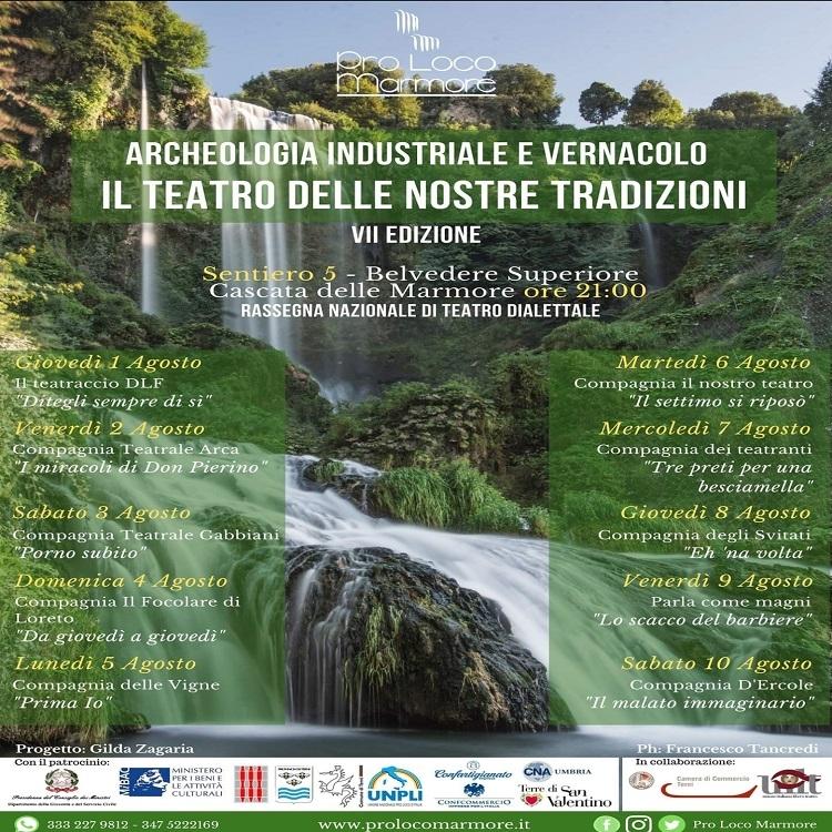 Archeologia industriale e vernacolo: Rassegna nazionale di teatro dialettale
