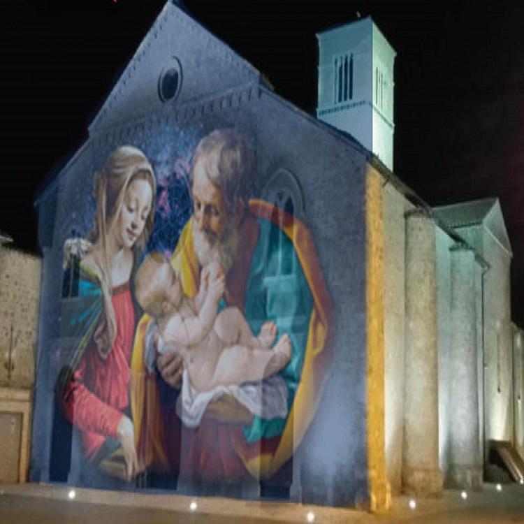 Christmas of Terni: Lights, water, magic