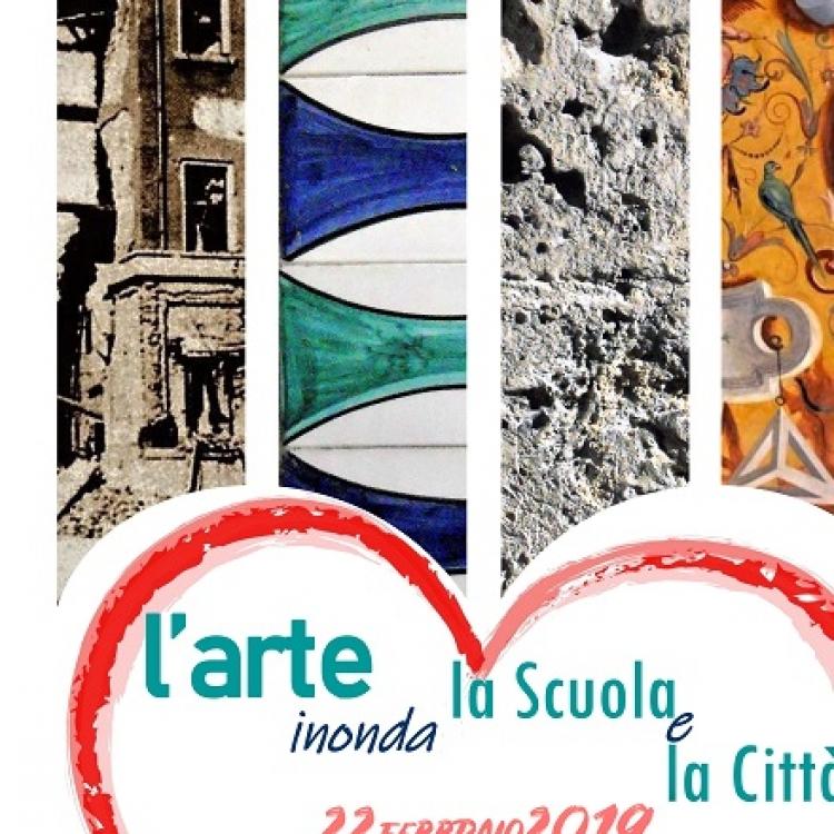 L'arte inonda la scuola e la città