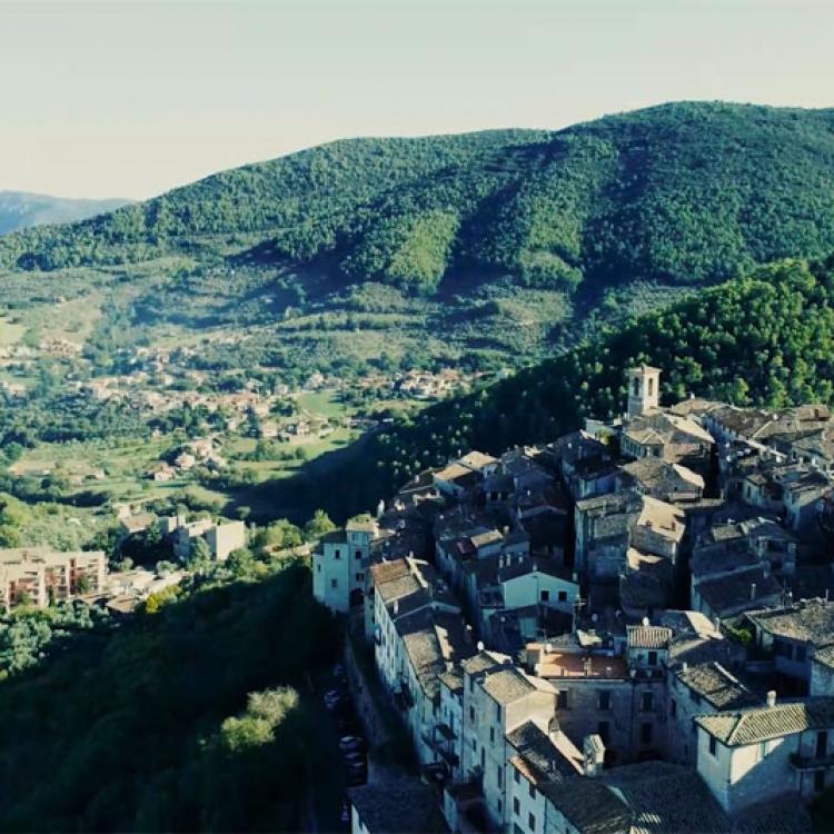 L'antico borgo di Stroncone