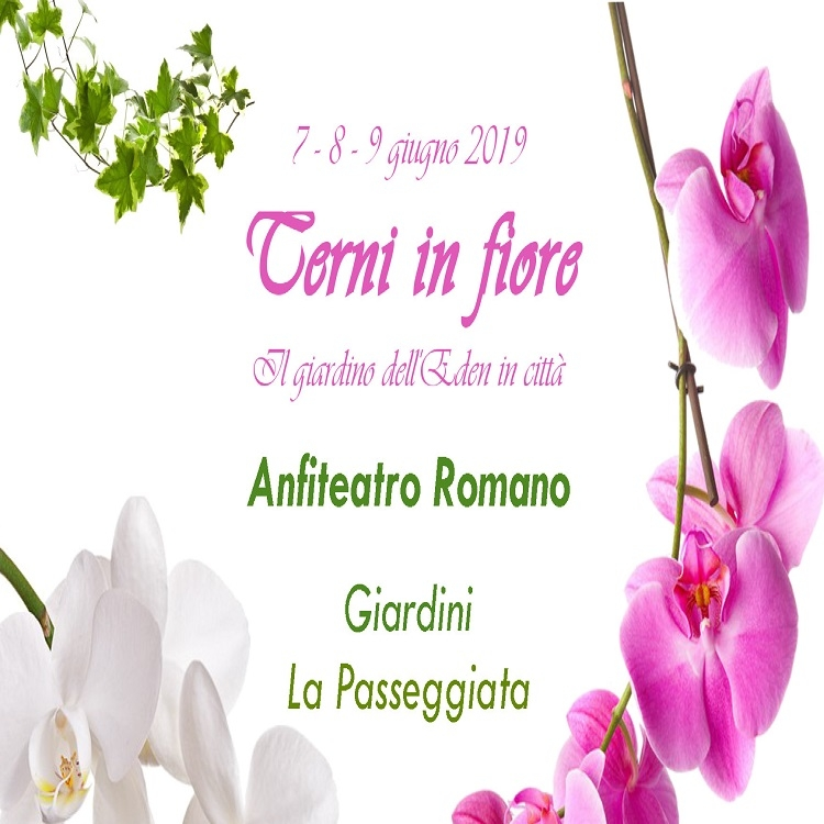 Terni in Fiore: Floravivaismo e prodotti naturali – 1^ edizione
