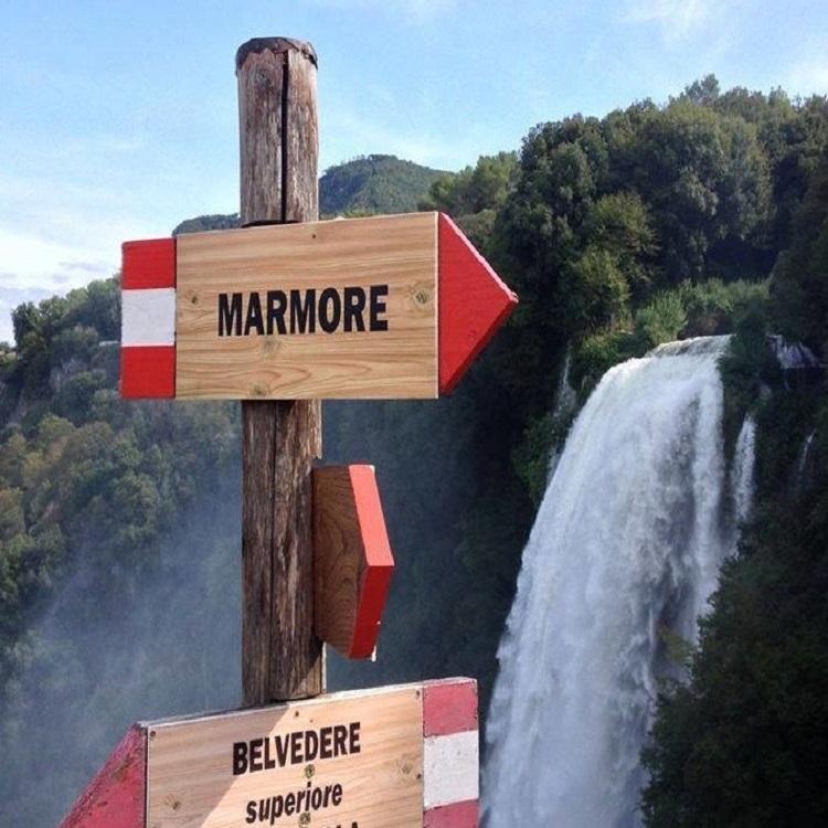 In Treno alla Cascata delle Marmore