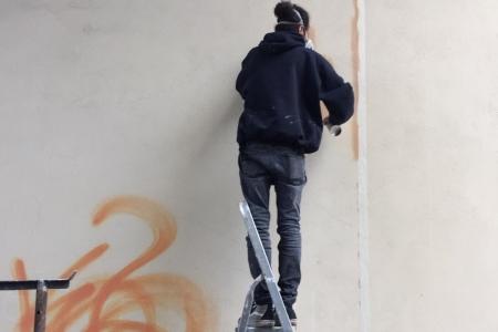 Uno - Street art