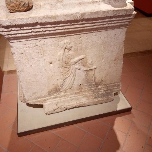 L'Ara di Nettuno del Museo Archeologico di Terni