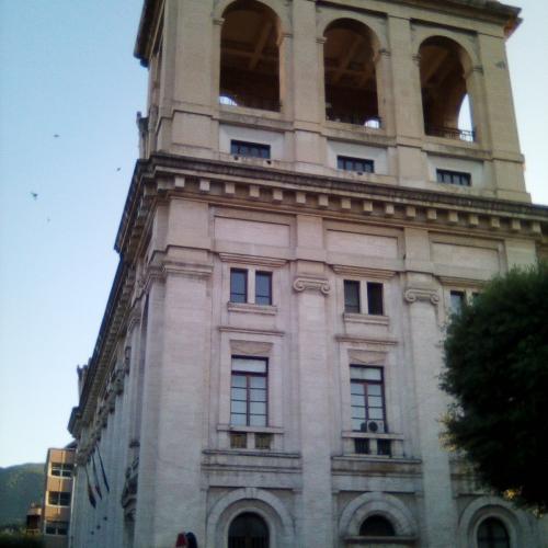 The buildings in Terni designed by architect Cesare Bazzani