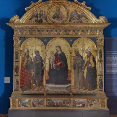 La Pala dei Francescani di Piermatteo d'Amelia