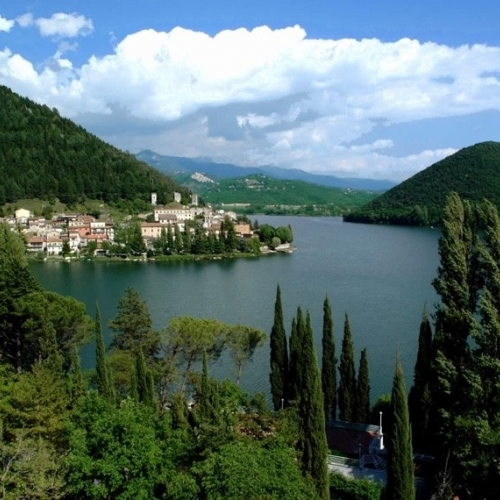 Piediluco and its lake