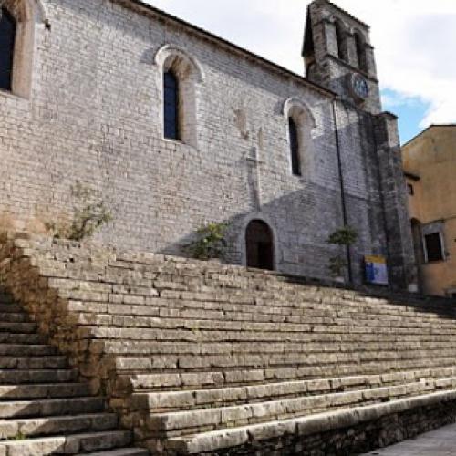 The Church of San Francesco at Piediluco